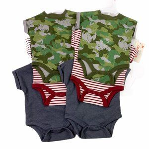 Cat & Jack Newborn 3 Piece Short Sleeve Bodysuit -
